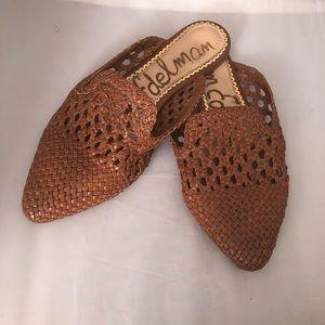 Sam Edelman woven Navya leather mules 7.5